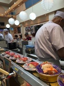 Tokyo fish market sushi